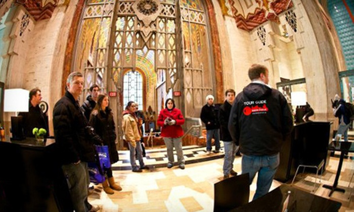 Inside Detroit - Downtown: Walking Tour, Bar Tour, or Bus Tour for Two from Inside Detroit