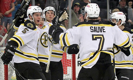Providence Bruins at Dunkin' Donuts Center: Reserved Seating for any Home Game - Providence Bruins in Providence