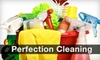 Perfection Cleaning: $41 for a Three-Room Cleaning from Perfection Cleaning ($82.50 Value)