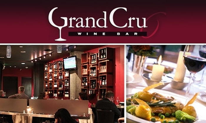 Grand Cru Wine Bar - Northwest Bellevue: $15 for $30 Worth of Small Plates and Wine Pairings at Grand Cru Wine Bar