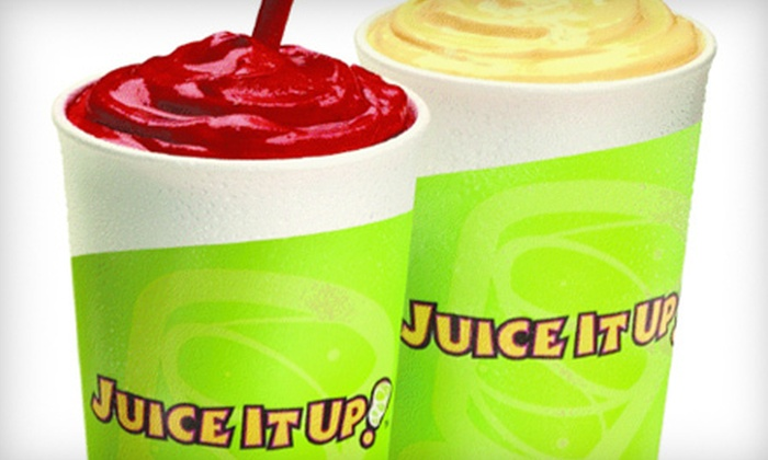 Juice It Up! - Rossmoor: $10 for Five 24-Ounce Juice Smoothies at Juice it Up! in Long Beach ($21.25 Value)