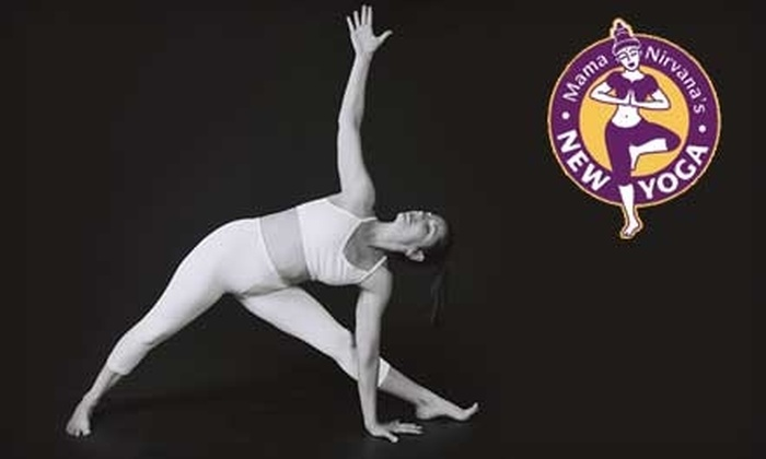 Mama Nirvana's New Yoga - Multiple Locations: $45 for One Month of Unlimited Classes at Mama Nirvana's New Yoga