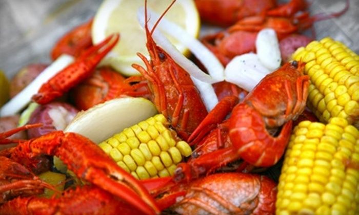 Crawdaddy's Fresno - Visalia: $20 for $40 Worth of New Orleans–Style Fare and Drinks at Crawdaddy's in Visalia