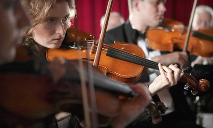 California Symphony - Downtown Walnut Creek: One Ticket to a California Symphony Performance at Lesher Center for the Arts in Walnut Creek. Four Options Available