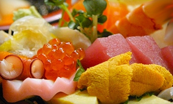 RICE: Asian Fusion Cuisine And Sushi Bar - People's Freeway: $10 for $22 Worth of Asian Fare at RICE: Asian Fusion Cuisine And Sushi Bar
