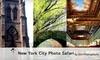New York City Photo Safari - New York City: $55 for One Workshop Outing with New York City Photo Safari