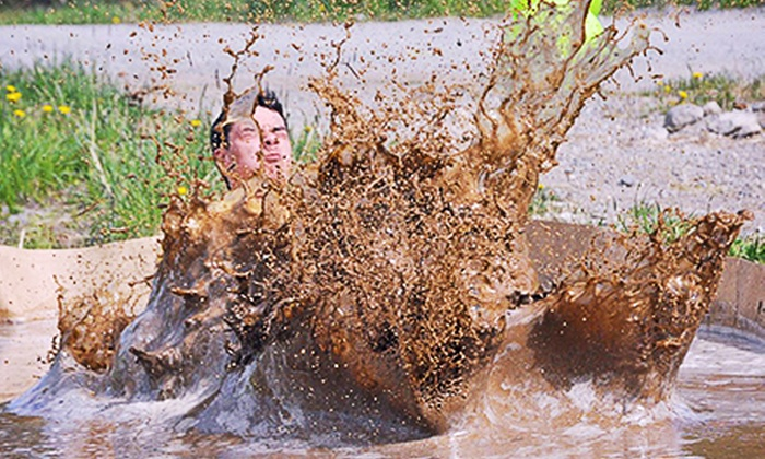 MudManX - Cousins Paintball: MudManX Race for One or Two Runners or Two Spectators on Saturday, June 8 (Up to 58% Off)