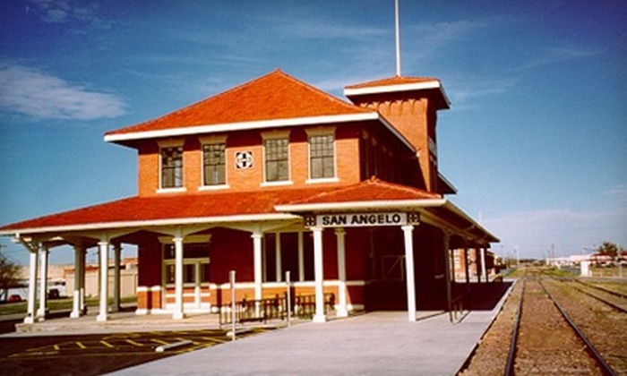 Railway Museum of San Angelo - San Angelo: $4 for Two Tickets to Hobo Festival at Railway Museum of San Angelo on Saturday, May 21 (Up to $8 Value)