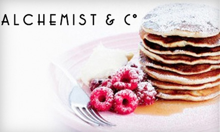 ALCHEMIST & CO: $99 for a Delivery of Parisian Breakfast in Bed from Alchemist & Co ($240 Value)
