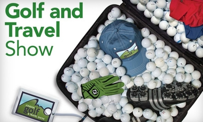 London Golf & Travel Show - East London: $6 for Two Tickets to the London Golf & Travel Show (Up to $16 Value)