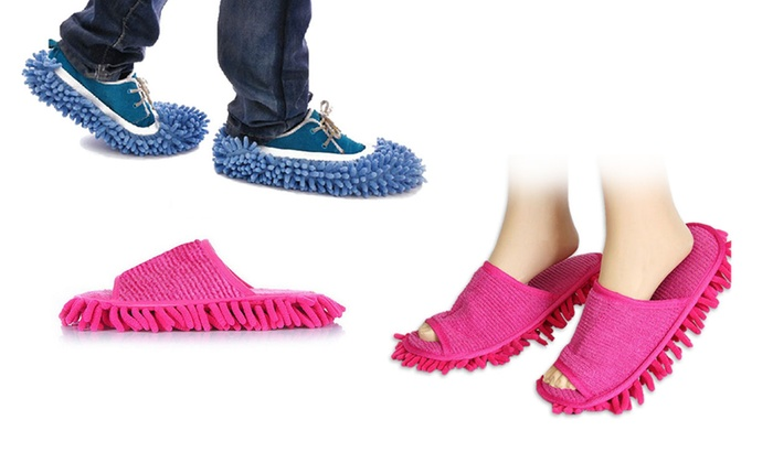 Sensual Sale: $9 for a Pair of Mop Slippers or $18 for a Pair of Mop Shoes in Choice of Colour