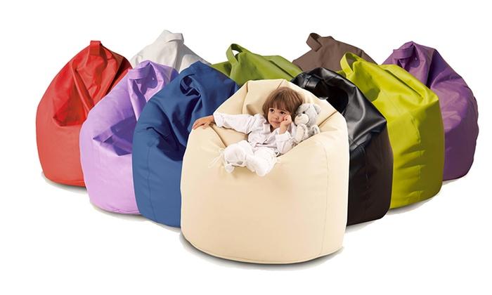 Poltrona sacco o pouf | Groupon Goods