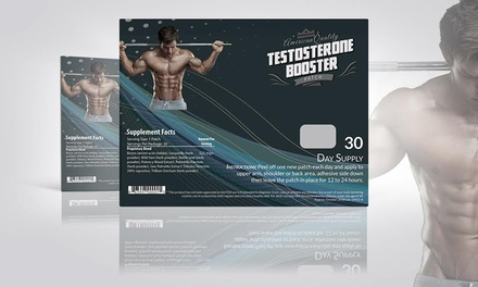 Testosterone-Booster Patches (30-Pack)