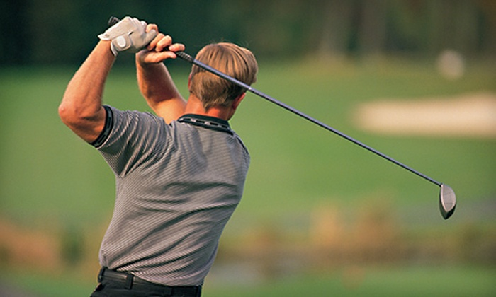 Executive Links - Akron / Canton: Golf Lesson with Swing Analysis or 9- or 18-Hole Playing Lesson from Executive Links, LLC (Up to 57% Off)