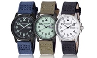 GROUPON: Stührling Original Men's Sport Aviator Watches Stührling Original Men's Sport Aviator Watches