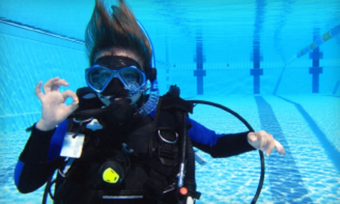 Dive California - Midway District: $39 for an Introductory Scuba-Diving Lesson at Dive California ($100 Value)