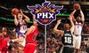 Phoenix Suns - Downtown Phoenix: Up to 60% Off Phoenix Suns vs. Dallas Mavericks Tickets. Buy Here for a $27 200-Level Ticket for 1/28/10. Click Below for Additional Games.