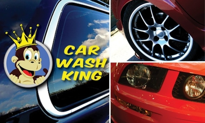 Car Wash King Indy - Noblesville: $25 for Five Manager's-Special Car Washes at Car Wash King