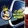 Half Off at Car Wash King