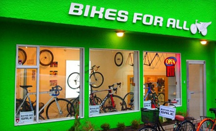 Spring Tune-Up for One Bike (a $60 value) - Bikes For All in Vancouver