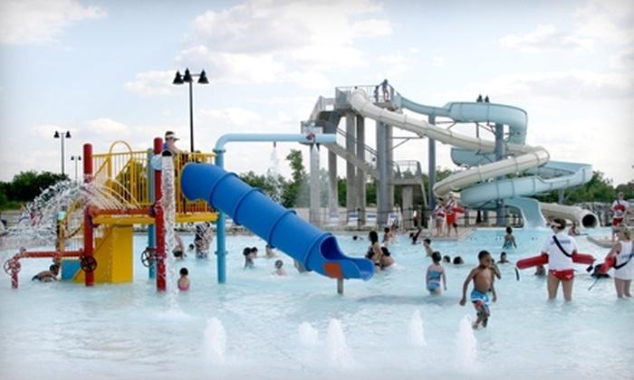 Splash Station Waterpark - Joliet: Two Adult Passes or Two Children's Passes to Splash Station Waterpark in Joliet
