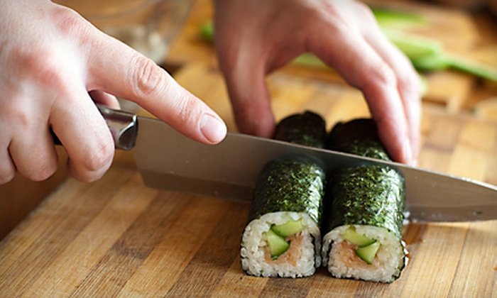 Fuji Hana Sushi Bar & Grill and Thai Peppers - Acworth-Kennesaw: $45 for a Sushi-Making or Thai Cooking Class at Fuji Hana Sushi Bar & Grill and Thai Peppers in Kennesaw ($90 Value)