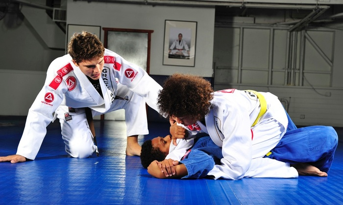 Gracie Barra San Antonio - Stone Oak: One Month of Unlimited Brazilian Jujitsu Classes for Women or Men at Gracie Barra San Antonio (Up to 75% Off)