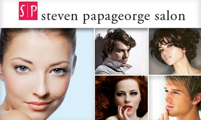 Steven Papageorge Salon - DePaul: $75 for $175 Worth of Services at Steven Papageorge Salon in Lincoln Park