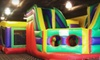 Up to 61% Off Play Sessions at FunFlatables