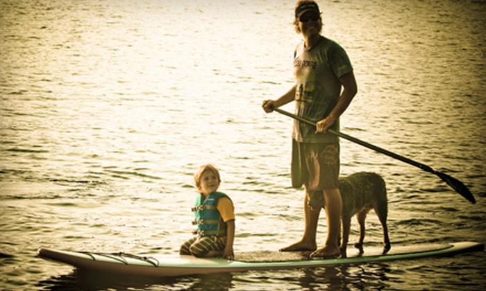 Coastal Paddle Company - Gulf Breeze: $30 for a Standup-Paddleboarding Adventure at Coastal Paddle Company ($60 Value)