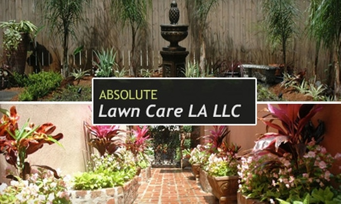 Absolute Lawn Care LA, LLC - New Orleans: $50 for $100 Worth of Lawn and Landscaping Services from Absolute Lawn Care LA, LLC