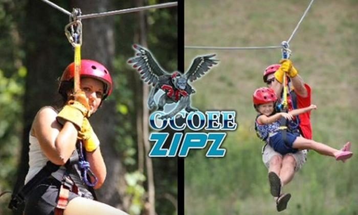 Ocoee Outdoors - 2: $35 for a Zip-Line Tour with Ocoee Zipz ($79 Value)