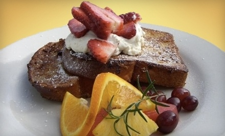 $20 Groupon For Breakfast and Lunch at Fig Tree Cafe - Fig Tree Cafe in San Diego