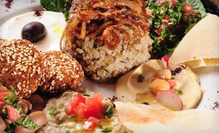 $40 Groupon - Maza Restaurant in Chicago