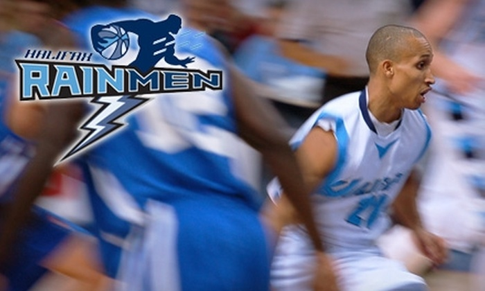 Halifax Rainmen - Downtown Halifax: $25 for Two Adult and Two Youth Tickets to a Halifax Rainmen Basketball Game at Halifax Metro Centre