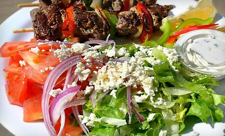 Build-Your-Own Meal for 2 (a $15.80 value) - G3 Great Greek Grill in Houston
