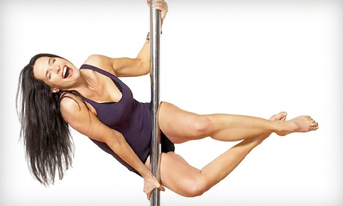Sheila Kelley's S Factor - Multiple Locations: Introductory Pole-Dance Workout Class or a Two-Hour Girls' Night Out Package at Sheila Kelley S Factor (Up to 55% Off)