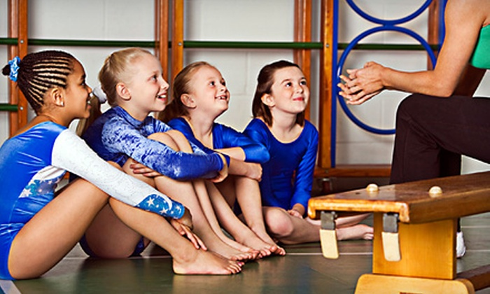 Cage Gymnastics - Topeka: Five Drop-In Open-Gym Sessions or 90-Minute Gymnastics Birthday Party for Up to 15 Kids at Cage Gymnastics