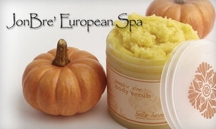 JonBre' European Spa - 3: Pumpkin Spice Full Body Wrap or Mani-Pedi at JonBre' European Spa in Yorktown (Up to $69 Value). Choose from Two Options.