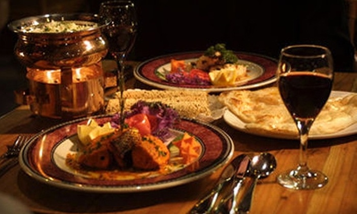 Khazana - Downtown: $12 for $24 Worth of Indian Dinner and Drinks or $7 for an Indian Lunch Buffet ($14.50 Value) at Khazana