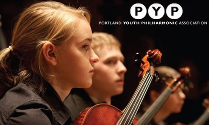 Portland Youth Philharmonic - Downtown: $10 for One Orchestra-Level Ticket to Portland Youth Philharmonic's Fall Concert at Arlene Schnitzer Concert Hall (Up to $23 Value)