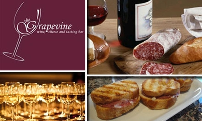 The Grapevine - Willow Glen: $20 for $40 Worth of Fine Wines, Cheeses, Small Plates, and More at The Grapevine