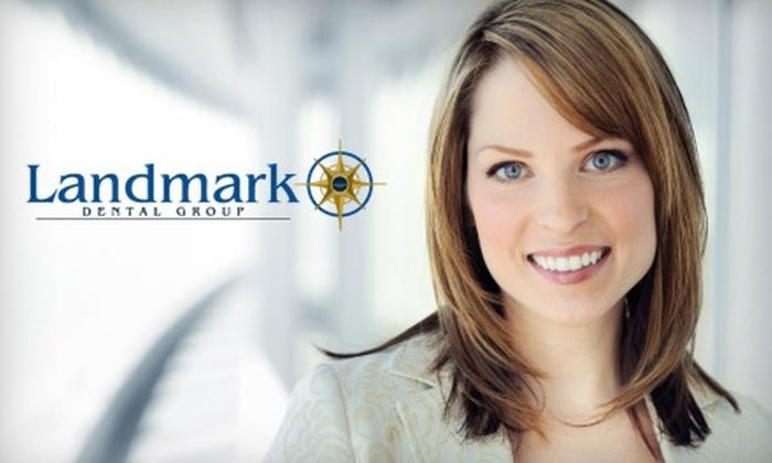 Landmark Dental Group - Santa Cruz: $74 for an Exam, X-Rays, and Teeth Cleaning at Landmark Dental Group ($366 Value)