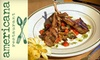 Americana Restaurant - Del Mar: $15 for $30 Worth of Dinner, or $10 for $20 Worth of Breakfast and Lunch at Americana Restaurant in Del Mar