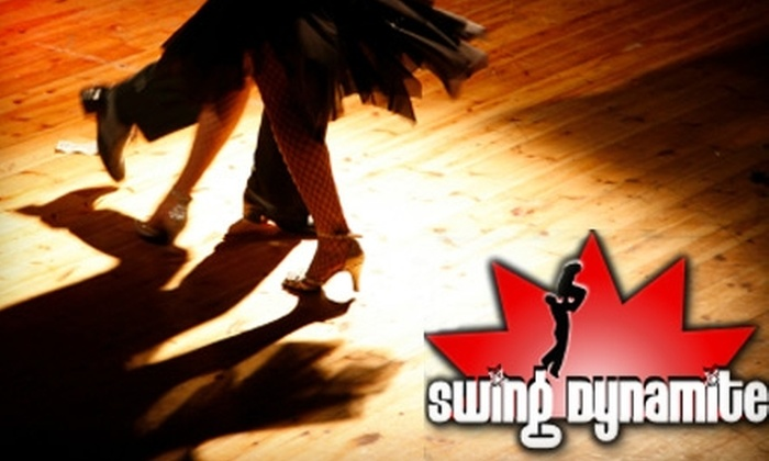 Swing Dynamite - Lower Town: $49 for a Six-Week Beginner's Swing Dance Class at Swing Dynamite (Up to $130 Value)