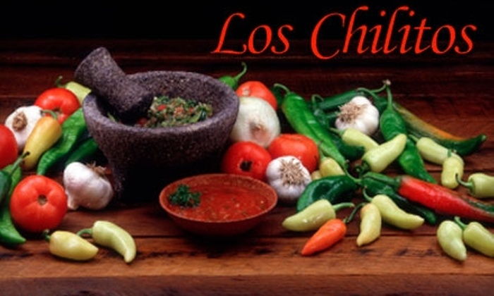 Los Chilitos Taco and Tequila House - Mont royal: $12 for $25 Worth of Authentic Mexican Fare and Drinks at Los Chilitos Taco and Tequila House