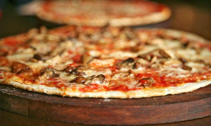 Jockamo Upper Crust Pizza - Greenwood: Pizza Lunch for Two or Four at Jockamo Upper Crust Pizza in Greenwood