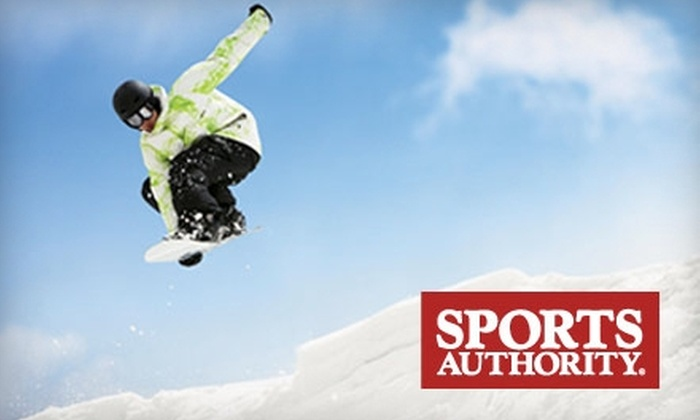 Sports Authority - Multiple Locations: $20 for a Ski or Snowboard Tune-Up with Stonegrinding and P-Tex Treatments from Sports Authority (Up to $80 Value)