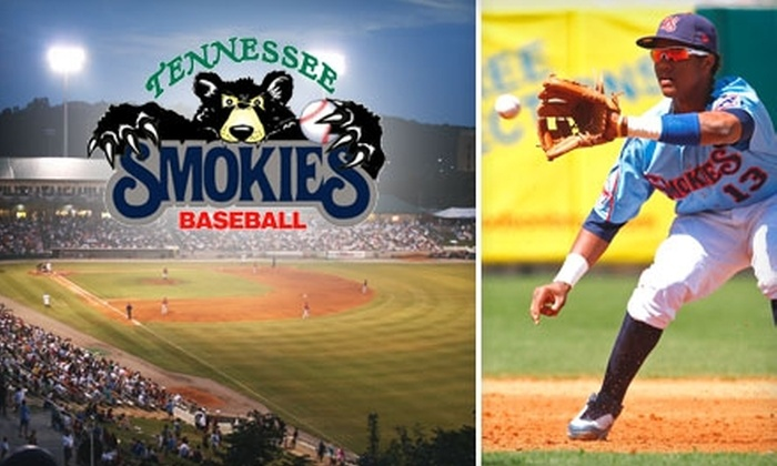 Tennessee Smokies - Sevierville: $20 for Four Tickets to a Tennessee Smokies Playoff Baseball Game plus Four Hot Dogs, Four Small Soft Drinks, and Four Game Day Programs (Up to $64 Value)
