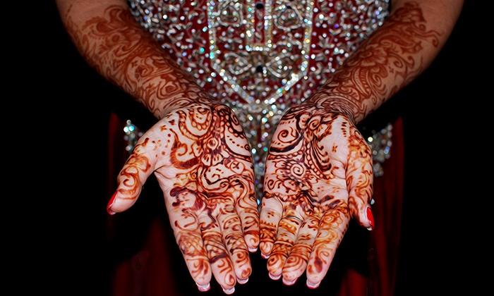 Master of Henna - Olathe: $80 for $100 Groupon — Master of Henna